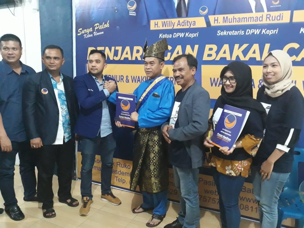 Candra Ibrahim Hanya Mendaftar Di 3 Parpol Posmetro Batam